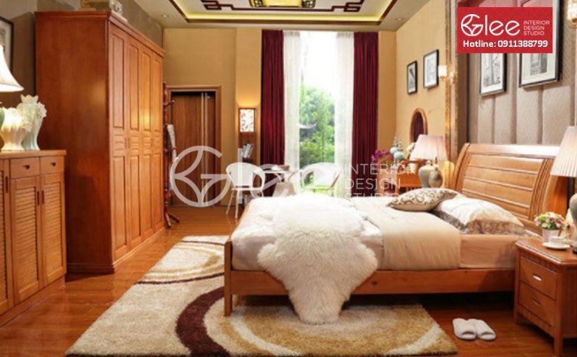 3 mẫu thiết kế nội thất phòng ngủ bằng gỗ