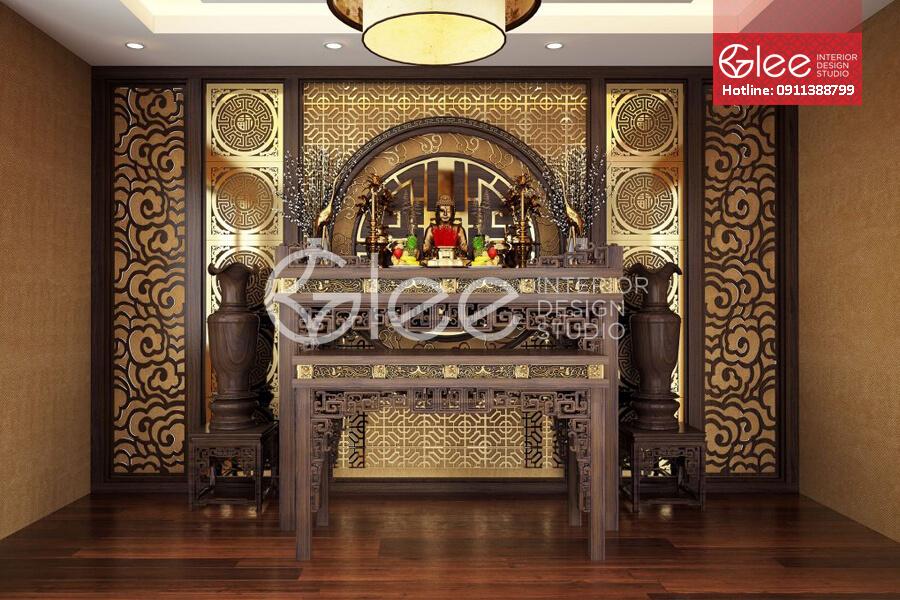 Bàn thờ gỗ gụ đẳng cấp - GTT19